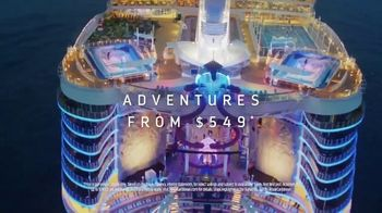Royal Caribbean Cruise Lines TV Spot, 'Limitless' Song by Danger Twins - Thumbnail 9