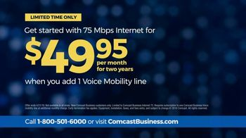 Comcast Business 75 Mbps Internet TV Spot, 'When the Unexpected Happens: Add Voice Mobility' - Thumbnail 9