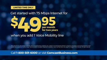 Comcast Business 75 Mbps Internet TV Spot, 'When the Unexpected Happens: Add Voice Mobility' - Thumbnail 8