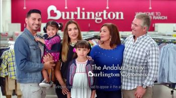 Burlington TV Spot, 'Andaluz Family: The Savings' - Thumbnail 1