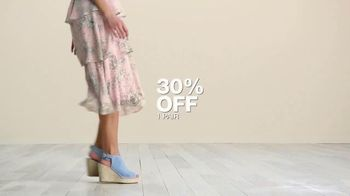 Macy's Great Shoe Sale TV Spot, 'Buy More, Save More' - Thumbnail 6