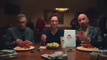 Wendy's Parmesan Caesar Salad TV Spot, 'Poker' - Thumbnail 2