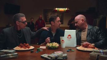 Wendy's Parmesan Caesar Salad TV Spot, 'Poker' - Thumbnail 6