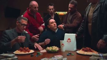 Wendy's Parmesan Caesar Salad TV Spot, 'Poker' - Thumbnail 8
