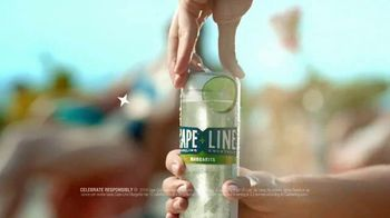 Cape Line Sparkling Cocktails Margarita TV Spot, 'What If' Song by Lizzo - Thumbnail 6