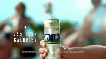 Cape Line Sparkling Cocktails Margarita TV Spot, 'What If' Song by Lizzo - Thumbnail 7