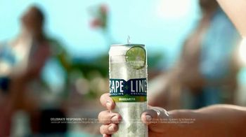 Cape Line Sparkling Cocktails Margarita TV Spot, 'What If' Song by Lizzo - Thumbnail 8