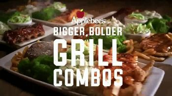 Applebee's Bigger Bolder Grill Combos TV Spot, 'Burning Love'