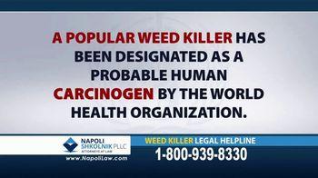 Napoli Shkolnik PLLC TV Spot, 'Weed Killer' - Thumbnail 2
