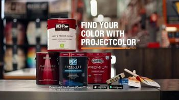 The Home Depot ProjectColor App TV Spot, 'Colorful New Experience' - Thumbnail 10