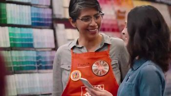 The Home Depot ProjectColor App TV Spot, 'Colorful New Experience' - Thumbnail 7