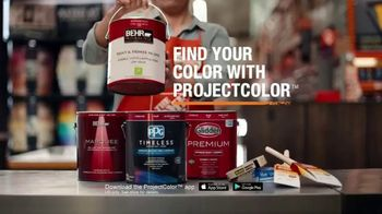 The Home Depot ProjectColor App TV Spot, 'Colorful New Experience' - Thumbnail 9