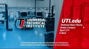 Universal Technical Institute TV Spot, 'The Door Is Wide Open: National Open House' - Thumbnail 8