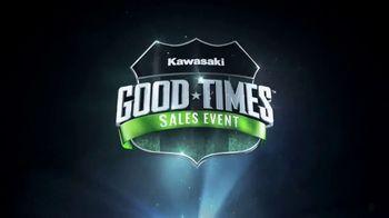 Kawasaki Good Times Sales Event TV Spot, 'Save Big' Featuring Steve Austin, Eli Tomac, Jeremy McGrath - Thumbnail 8