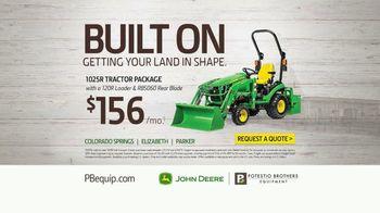 John Deere 1 Series TV Spot, 'Change Your Attachments: $156 per Month' - Thumbnail 9