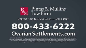 Pintas & Mullins Law Firm TV Spot, 'Ovarian Cancer' - Thumbnail 10