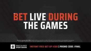 DraftKings Sportsbook TV Spot, '2019 March Madness: Free Bet' - Thumbnail 4