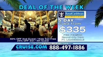 Cruise.com TV Spot, 'Deal of the Week: Majesty of the Seas' - Thumbnail 2