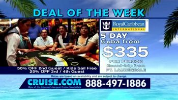 Cruise.com TV Spot, 'Deal of the Week: Majesty of the Seas' - Thumbnail 3