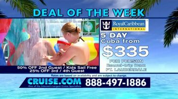 Cruise.com TV Spot, 'Deal of the Week: Majesty of the Seas' - Thumbnail 4