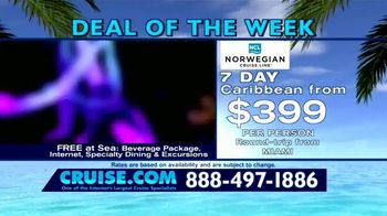 Cruise.com TV Spot, 'Deal of the Week: Majesty of the Seas' - Thumbnail 8