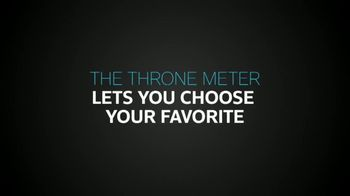 XFINITY X1 TV Spot, 'Game of Thrones: The Throne Meter' - Thumbnail 3