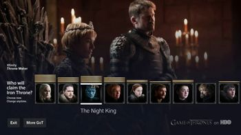 XFINITY X1 TV Spot, 'Game of Thrones: The Throne Meter' - Thumbnail 4