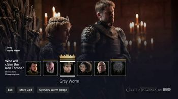 XFINITY X1 TV Spot, 'Game of Thrones: The Throne Meter' - Thumbnail 5