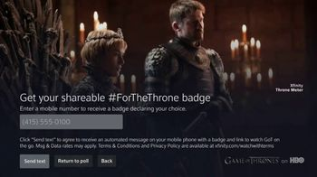 XFINITY X1 TV Spot, 'Game of Thrones: The Throne Meter' - Thumbnail 6