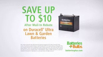 Batteries Plus TV Spot, 'Busy: Duracell Ultra Lawn & Garden' - Thumbnail 8