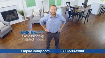 Empire Today TV Spot, 'Professional Installation Makes Remodeling Your Home Easier'