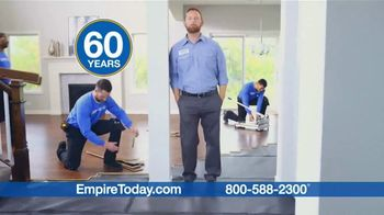 Empire Today TV Spot, 'Professional Installation Makes Remodeling Your Home Easier' - Thumbnail 4