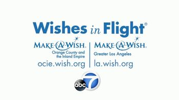 Make-A-Wish Foundation TV Spot, 'ABC 7: Wishes in Flight' - Thumbnail 10