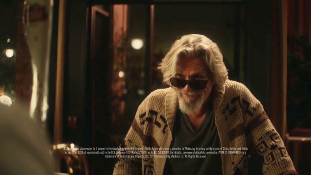 Stella Artois TV Commercial, 'Change Up the Usual' Featuring Sarah Jessica Parker & Jeff Bridges
