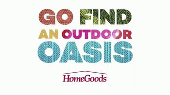 HomeGoods TV Spot, 'Outdoor Oasis' - Thumbnail 1