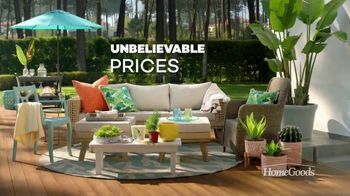 HomeGoods TV Spot, 'Outdoor Oasis' - Thumbnail 6