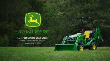 John Deere Test Drive Event TV Spot, 'Run With Us: Drive Green' - Thumbnail 9
