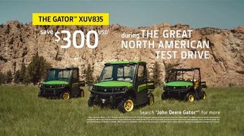 John Deere Great North American Test Drive Event TV Spot, 'Gator XUV835'