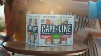 Cape Line Sparkling Cocktails TV Spot, 'Rooftop' Song by Lizzo - Thumbnail 4