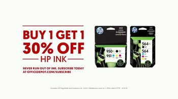Office Depot OfficeMax TV Spot, 'For the Team: HP Ink' - Thumbnail 8