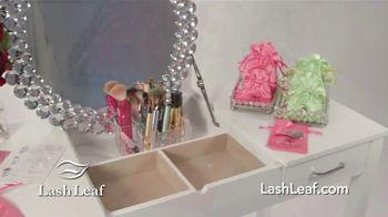 Lash Leaf TV Spot, 'Naturally Stunning Eyelashes' - Thumbnail 3
