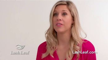 Lash Leaf TV Spot, 'Naturally Stunning Eyelashes' - Thumbnail 6