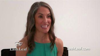 Lash Leaf TV Spot, 'Naturally Stunning Eyelashes' - Thumbnail 9