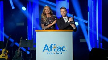 Aflac TV Spot, '2019 ACM Awards' Featuring Brandon Ray, Carly Pearce - Thumbnail 2