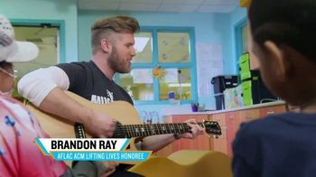Aflac TV Spot, '2019 ACM Awards' Featuring Brandon Ray, Carly Pearce - Thumbnail 3