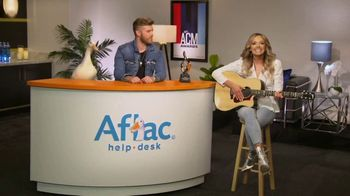 Aflac TV Spot, '2019 ACM Awards' Featuring Brandon Ray, Carly Pearce - Thumbnail 6