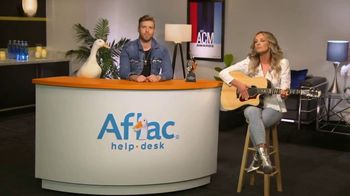 Aflac TV Spot, '2019 ACM Awards' Featuring Brandon Ray, Carly Pearce - Thumbnail 9
