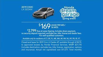 Honda Dream Garage Spring Event TV Spot, 'Soul of a Race Car' Featuring James Hinchcliffe [T2] - Thumbnail 6
