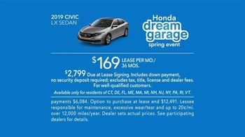 Honda Dream Garage Spring Event TV Spot, 'Soul of a Race Car' Featuring James Hinchcliffe [T2] - Thumbnail 7