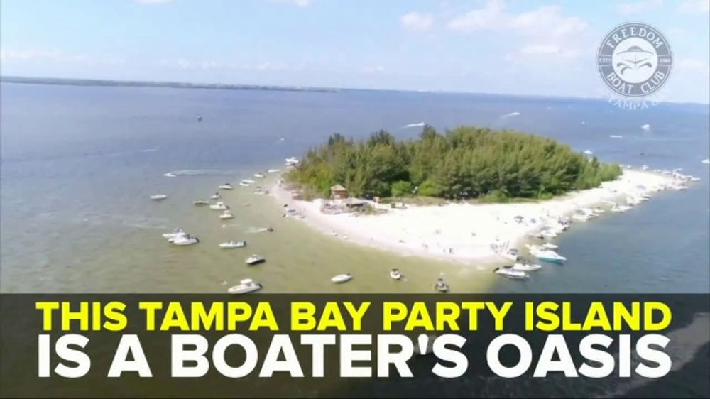 Freedom Boat Club TV Commercial, 'Taste & See Tampa Bay: Beer Can Island' -  Video